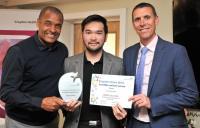 Radiographer Apollo Exconde wins London's Croydon incredible customer service award
