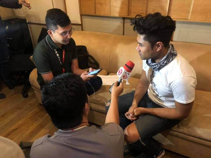 TV5 interview