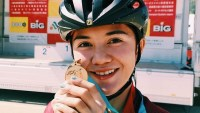 Ilonggo mountain biker Ariana Dormitorio wins gold in Japan race