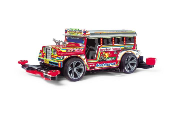 Jeepney Tamiya model Japan