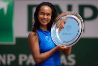 Filipino-Ecuadorian Leylah Annie Fernandez captures French Open Junior Singles title