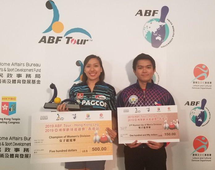 Filipino bowlers Hong Kong