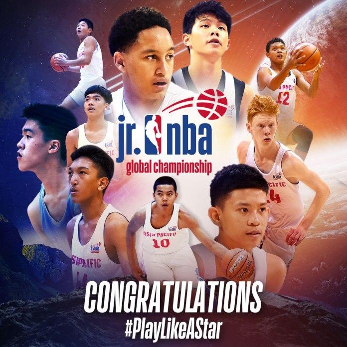 JR NBA Asia-Pacific