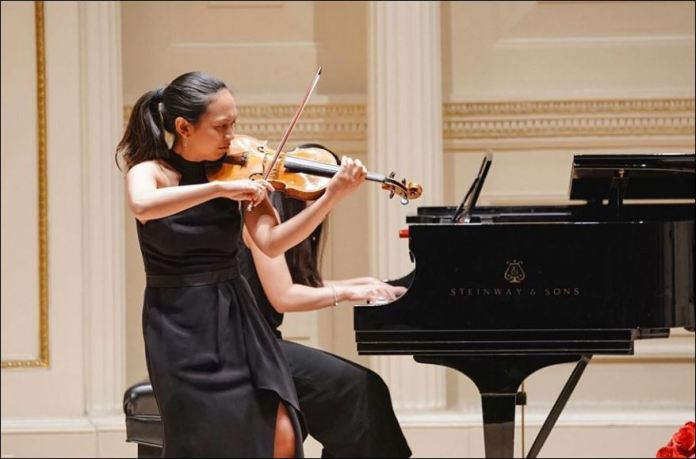 Violinist Ruth Livioco Tumpalan