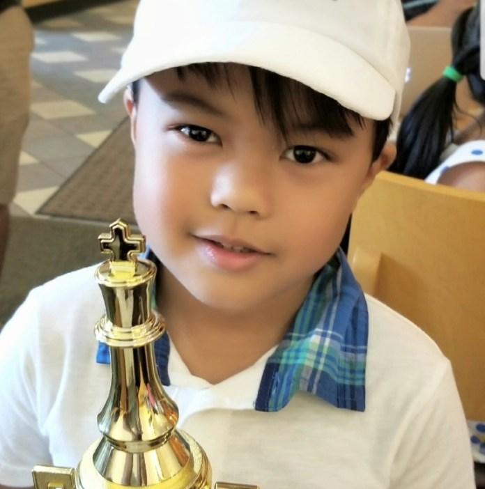 Chess whiz kid Scott Matthew Escalera