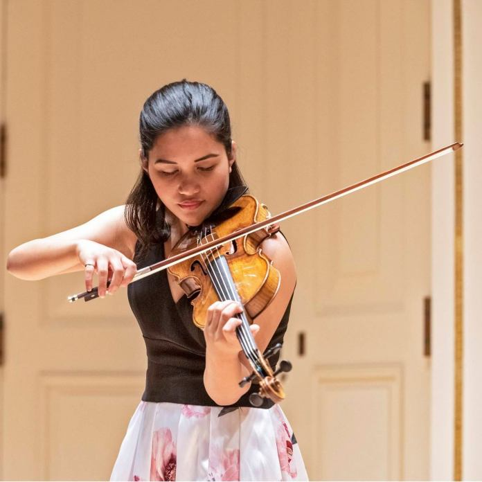 Dumaguete violinist KayCee Galano