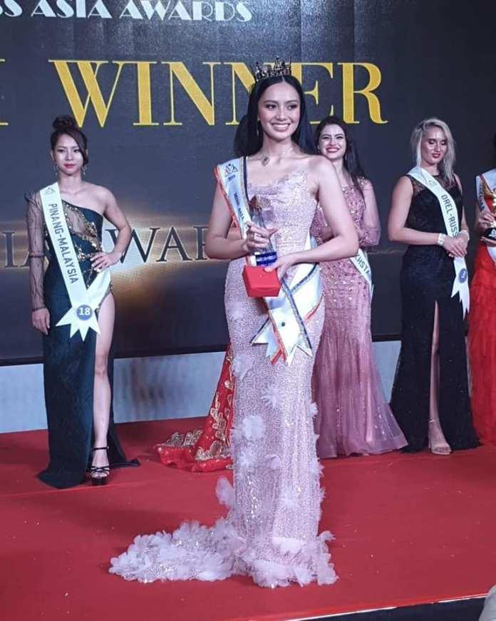 Kayesha Chua Miss Asia Awards