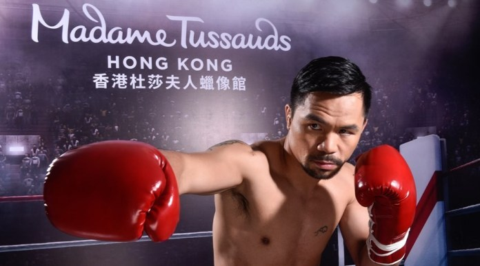 Manny Pacquiao wax figures