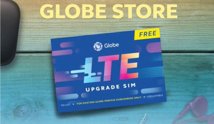Globe SIMs Free upgrading