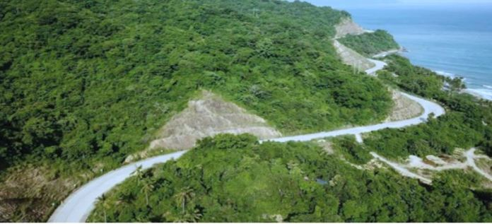 Mindoro Island mountain road