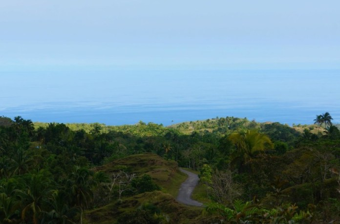 Siquijor's new road