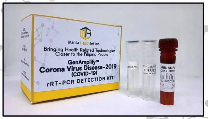 Philippine-developed COVID-19 Test Kits