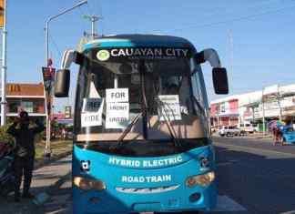 Hybrid Electric Road Trains Free ride