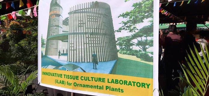 Bulacan's garden tissue culture laboratory