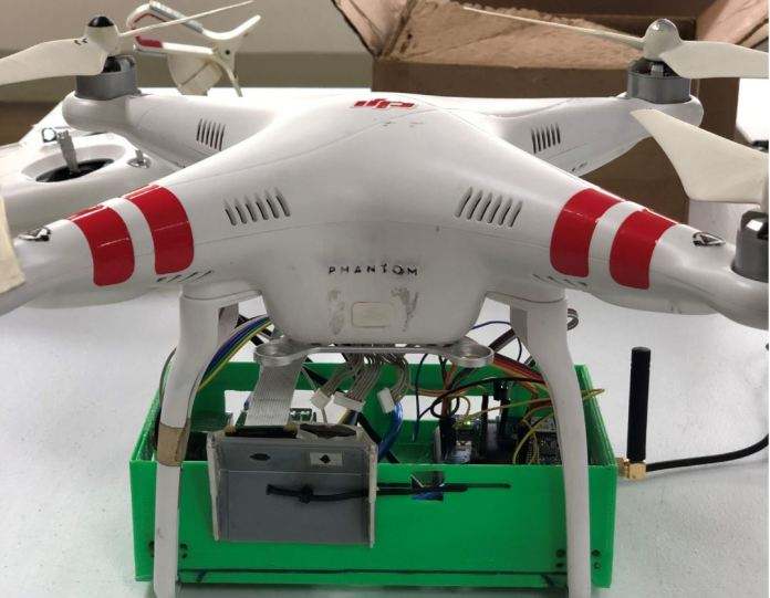 FEU AI drone thermal scanner