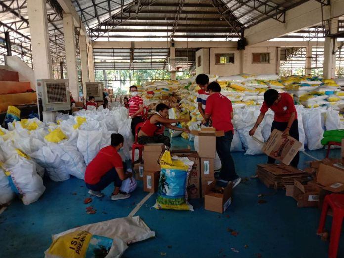 Caritas Manila donation