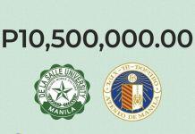 La Salle and Ateneo raise 10.5 million