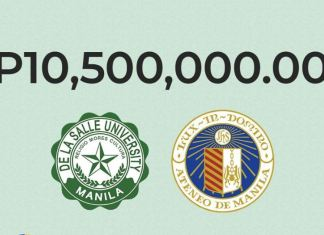 La Salle and Ateneo raise 10.5 million