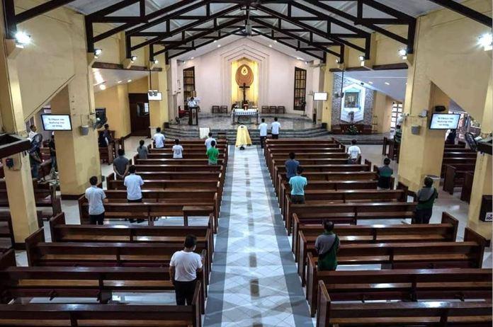 Philippine churches quarantine guidelines