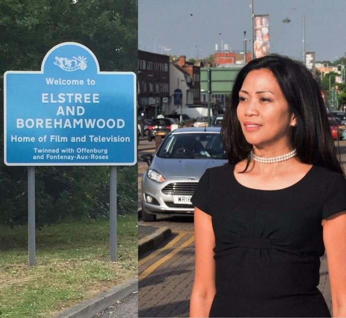 Cynthia Barker Mayor in England