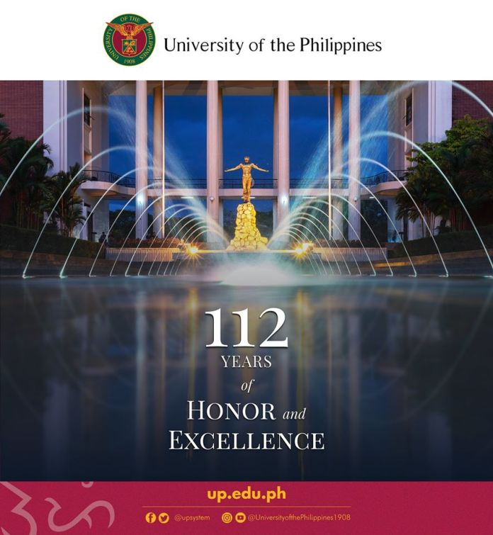 University of the Philippines Awards