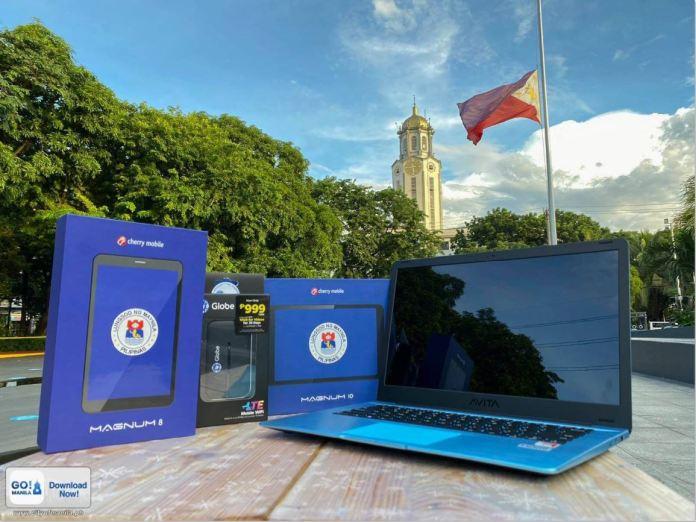 Manila free tablets laptops wifi for children