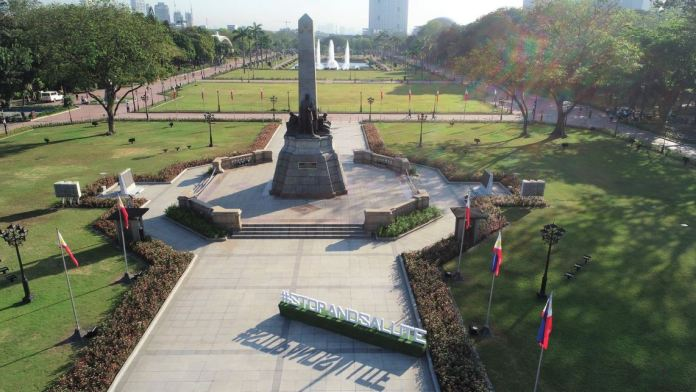 Rizal Park reopens for Fitness activities