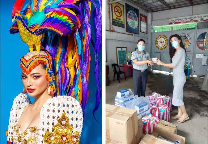 Emma Tiglao Donated Medical supplies