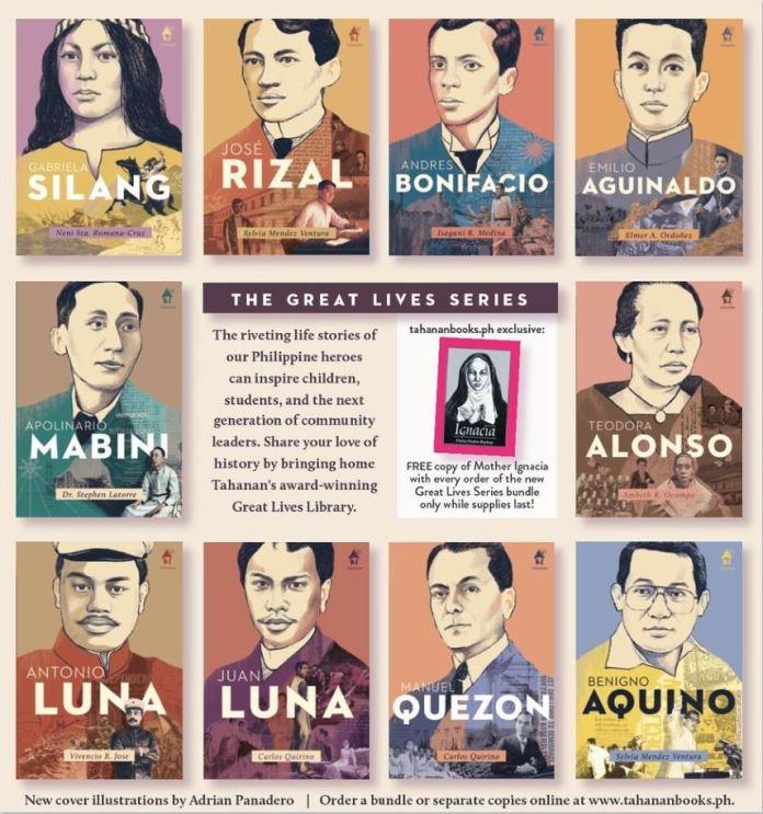 Philippine heroes Tahanan Books