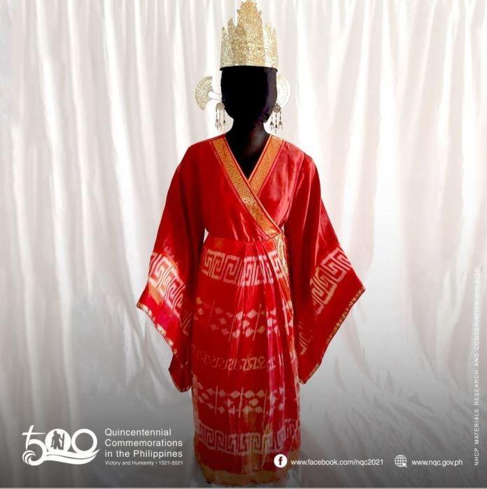 Pre-hispanic Visayan noble Costumes ASEAN Summit