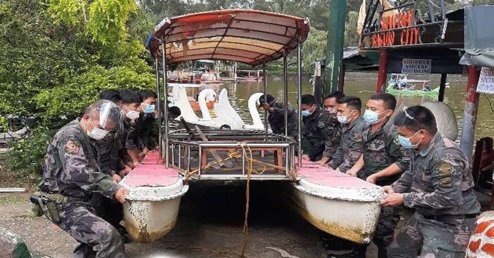 Baguio's Burnham Park Swan Boats rescue flood victims