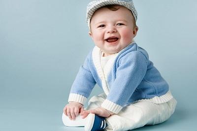 photos cute baby smile