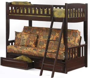 Cinnamon Bunk Bed