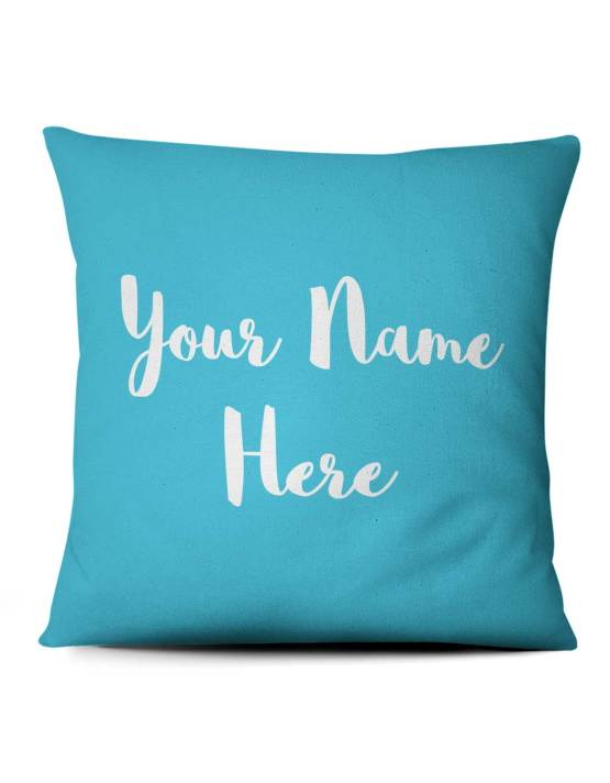 colorful cats custom photo pillow for kids