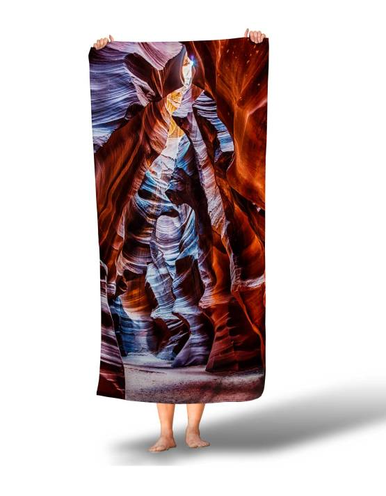 custom photo beach towels