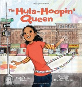 The Hula-Hoopin' Queen cvr