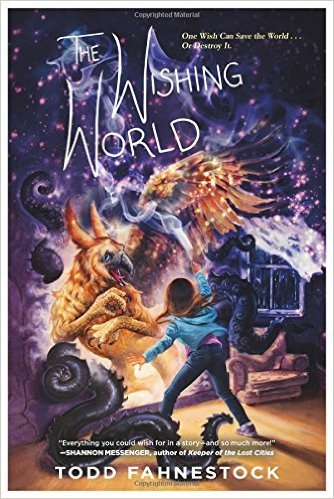 The Wishing World book cover