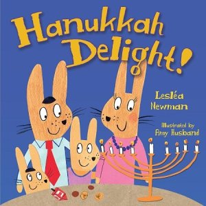 Hanukkah Delight by Leslea Newman book cover