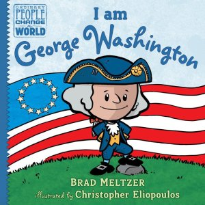 cover image of I am George Washington by Brad Meltzer