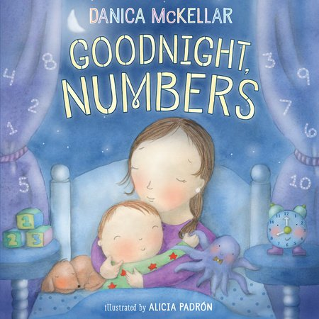 Cover image of Danica McKellar's Goodnight Numbers