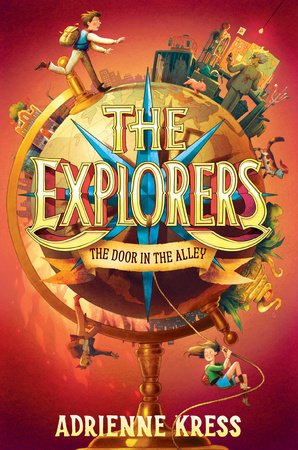 The Explorers: The Door in the Alley book cover image