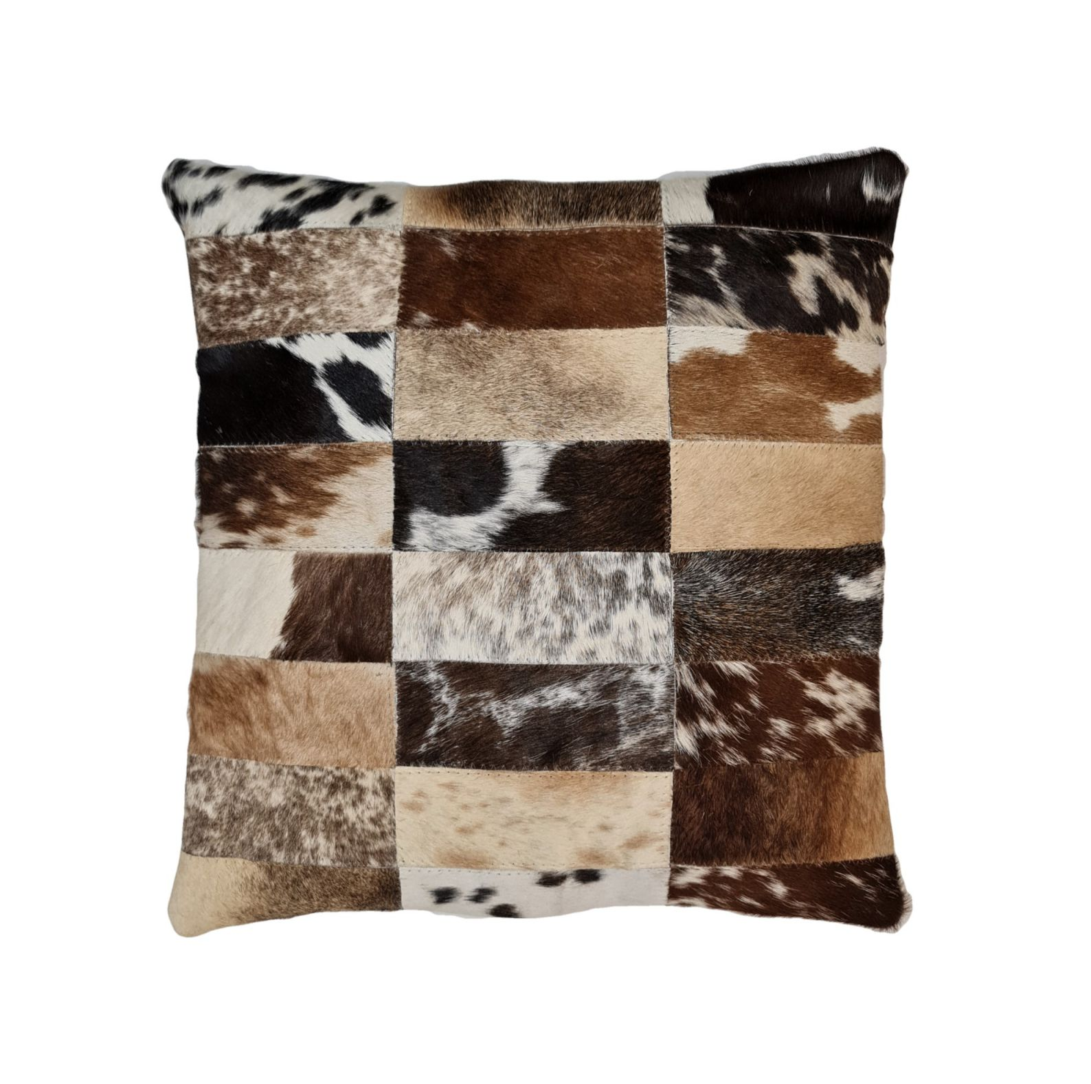 cowhide pillow cushion cover hair on hand crafted animal skin cover coussin de peau de vache oreiller