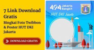 Bingkai Foto HUT DKI Jakarta