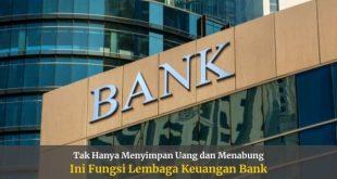 Fungsi Lembaga Keuangan Bank