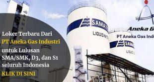 Lowongan PT Aneka Gas Industri