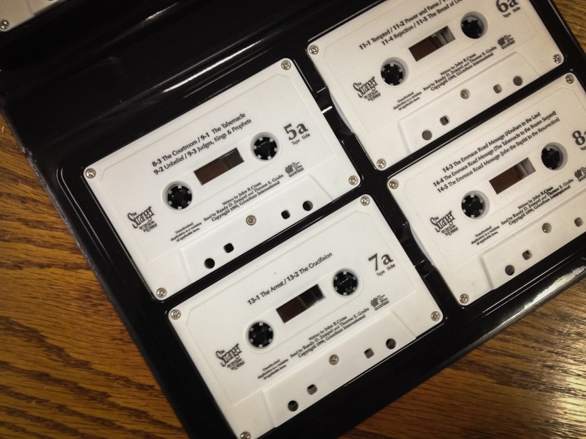 The Stranger on the Road to Emmaus audiobook on cassettes!