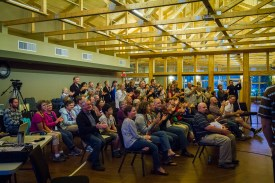 Staff, family and friends react to the musical