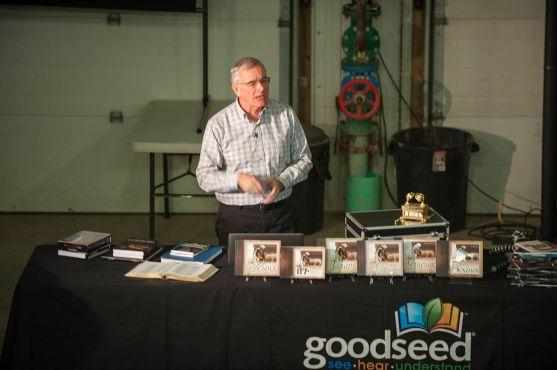 John Cross shares the journey of GoodSeed.