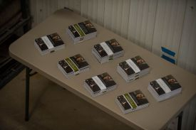 Every attendee went home with a copy of Fieldnotes vol. 2.