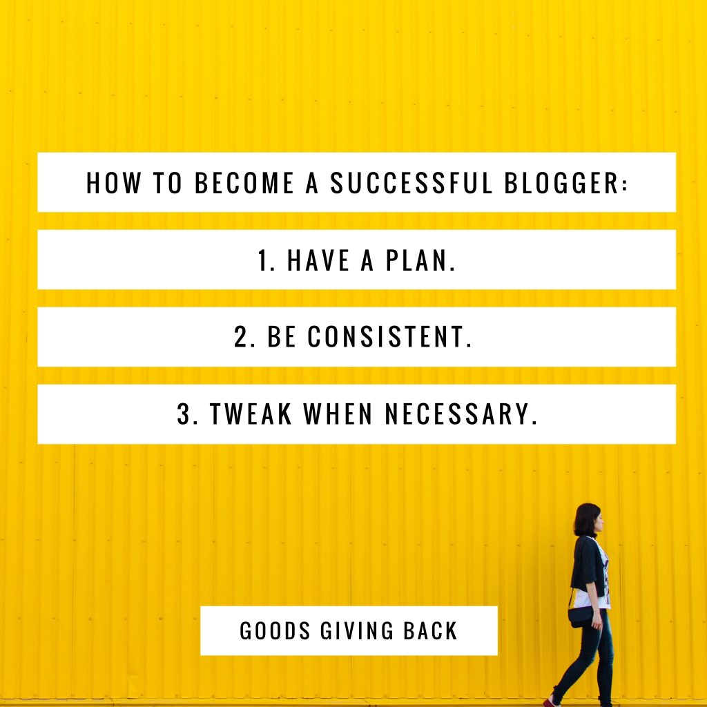 Three-step plan to become successful DIY blogger